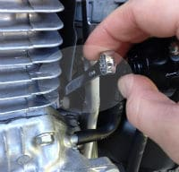 Wrenches required on pressure washers to get to tight spaces