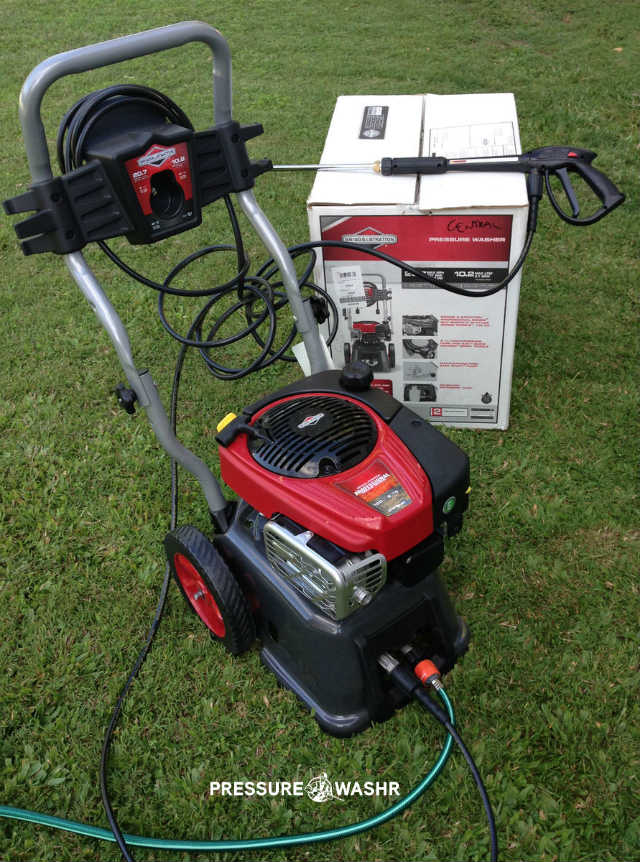 Out of Box Pic of Briggs and Stratton Power Washer