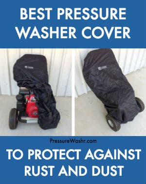 Best Pressure Washer Cover on Honda Powered Pressure Washer