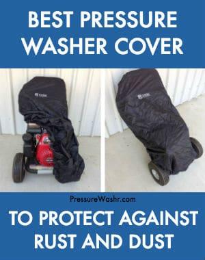 Best Pressure Washer Cover on Honda Powered Pressure Washer