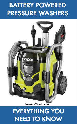 The Best Cordless Electric Battery Powered Pressure Washers