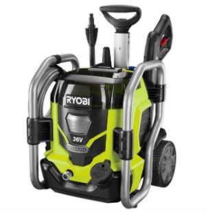 Ryobi battery powered electric pressure washer