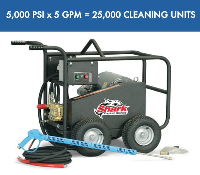Amazon Most Powerful Electruc Pressure Washer is Shark BRE