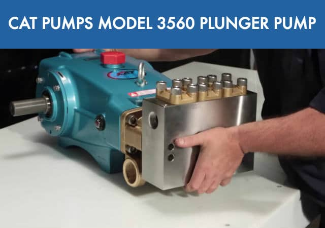 CAT Pumps Most Powerful Pressure Washer Pump