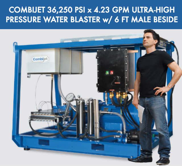 COMBIJET Electric Ultra High Pressure Water Blaster