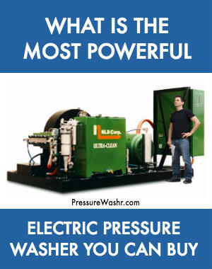 Most Powerful Electric Pressure Washer You Can Buy