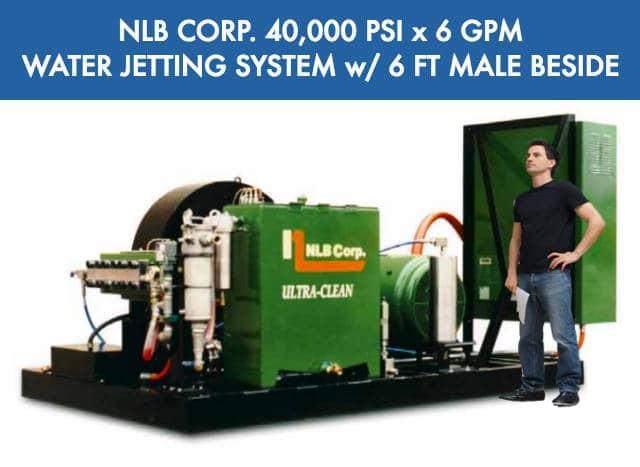 NLB Corp Ultra High Pressure Electric Pressure Washer System