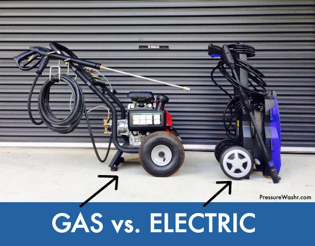 Gas vs Electric Pressure Washer Pros and Cons