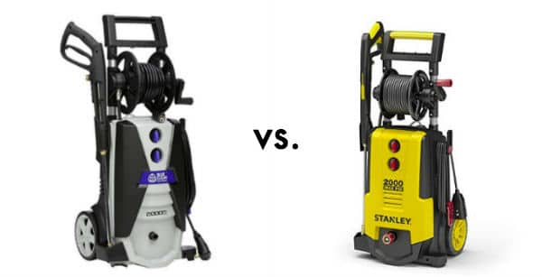 Stanley Electric Power Washer vs AR Blue Clean