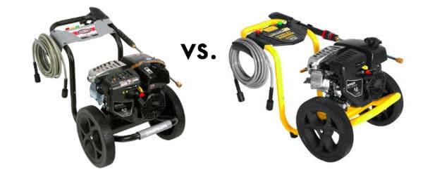 Stanley Gas Pressure Washer vs Simpson