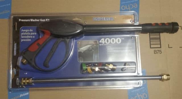 Apache Pressure Washer Spray Gun in Package