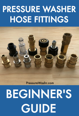 Pressure washer hose fittings intro image