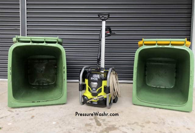 Ryobi battery powered pressure washer1
