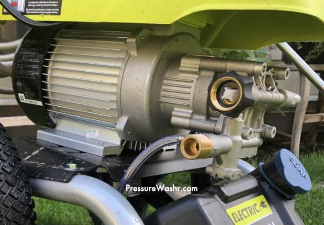 Closeup of Ryobi Induction Motor