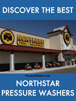 NorthStar pressure washers from Northern Tool and Equipment Intro Image