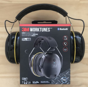3M WorkTunes Bluetooth hearing protection headphones for lawn mowing