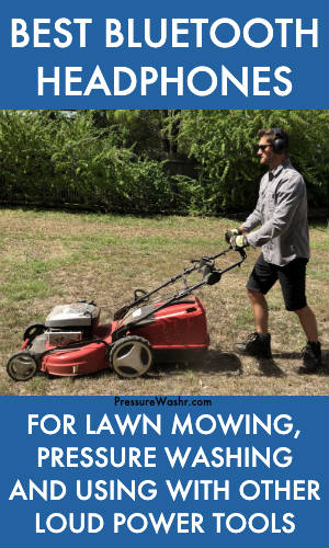 Best bluetooth headphones for lawn mowing
