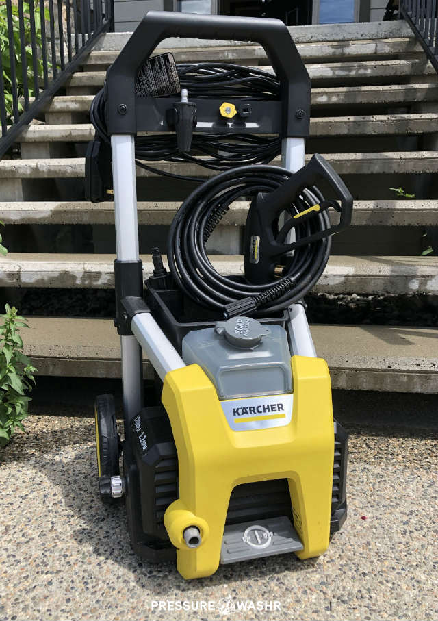Karcher K1700 Electric Pressure Washer Front View With Logo