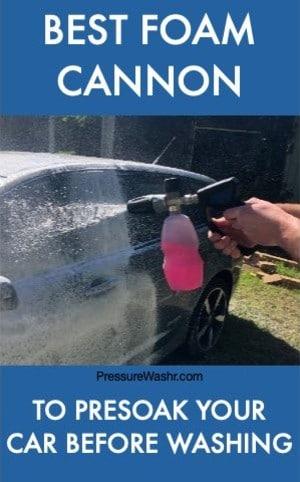 Best Foam Cannon MTM Hydro