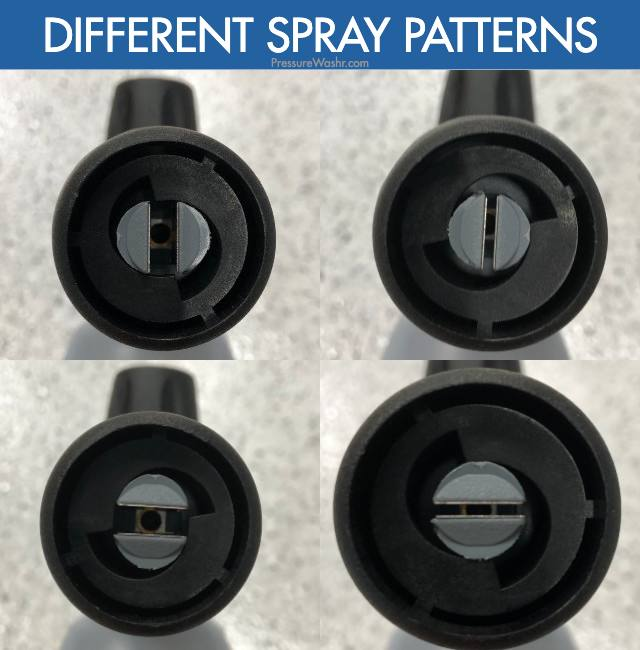 Foam Cannon Spray Pattern Adjustments