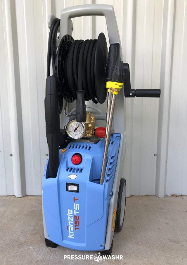 Kranzle 1122TST 1152TST 2.1GPM Best Electric Pressure Washer on the Market