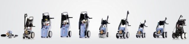 Kranzle pressure washer product line