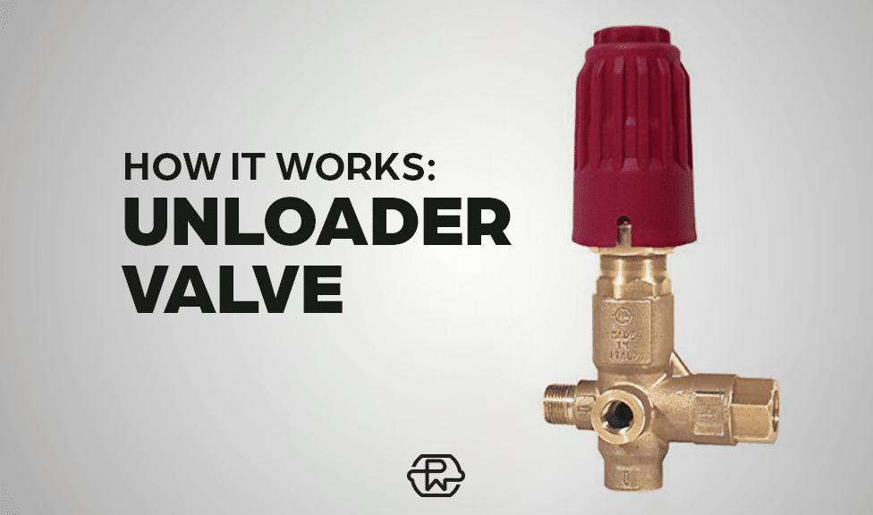 How a Pressure Washer Unloader Valve Works