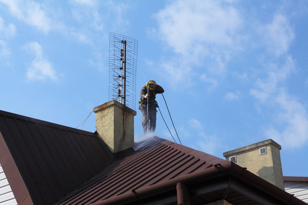 How to Pressure Wash Your Roof: Roof Pressure Washing Basics