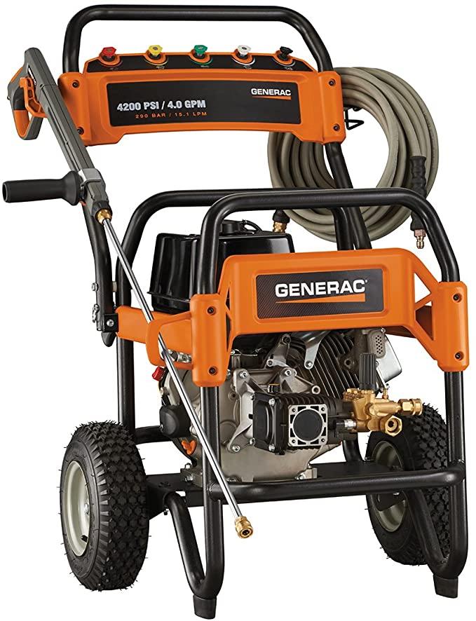 generac 4000 psi pressure washer