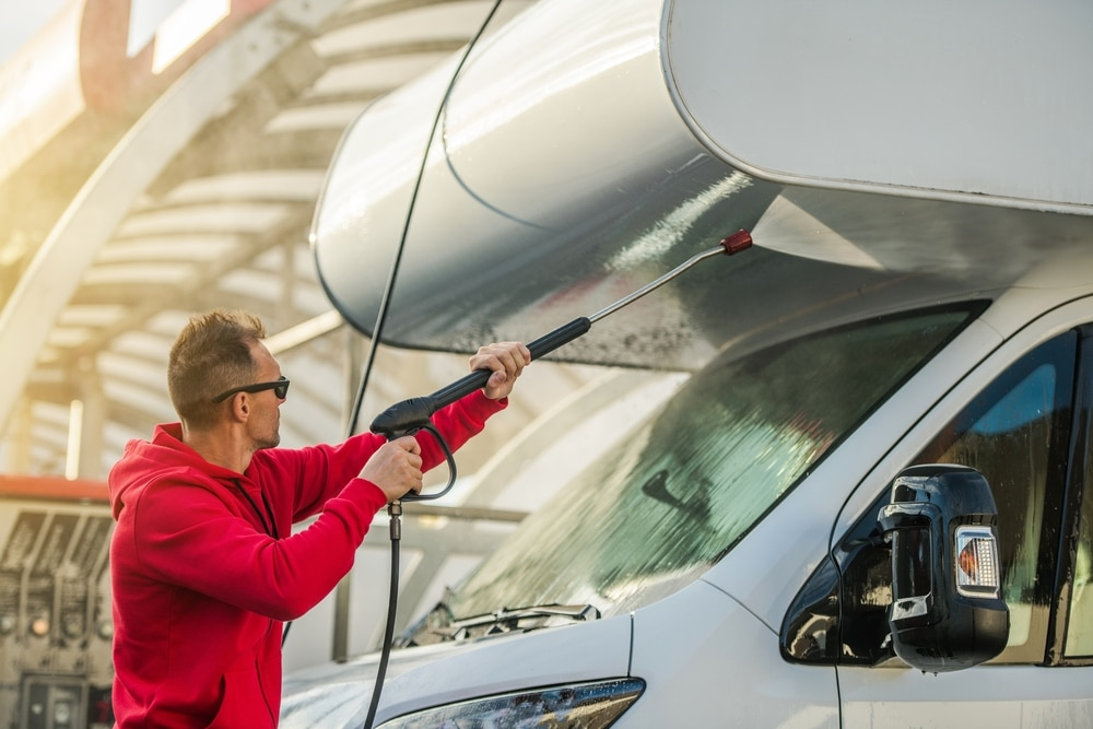 Should You Pressure Wash an RV: How to Clean Your RV Safely