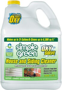 simple green siding cleaner