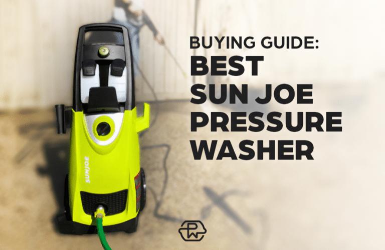 Best Sun Joe Washers Thumb